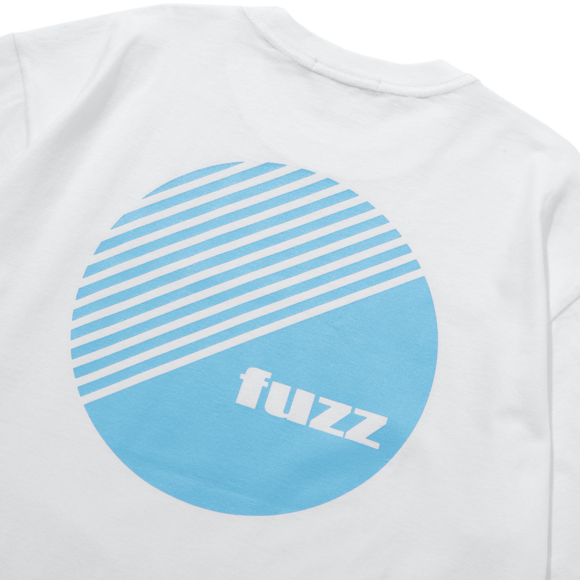 퍼즈(FUZZ) FUZZ BASIC LOGO TEE white