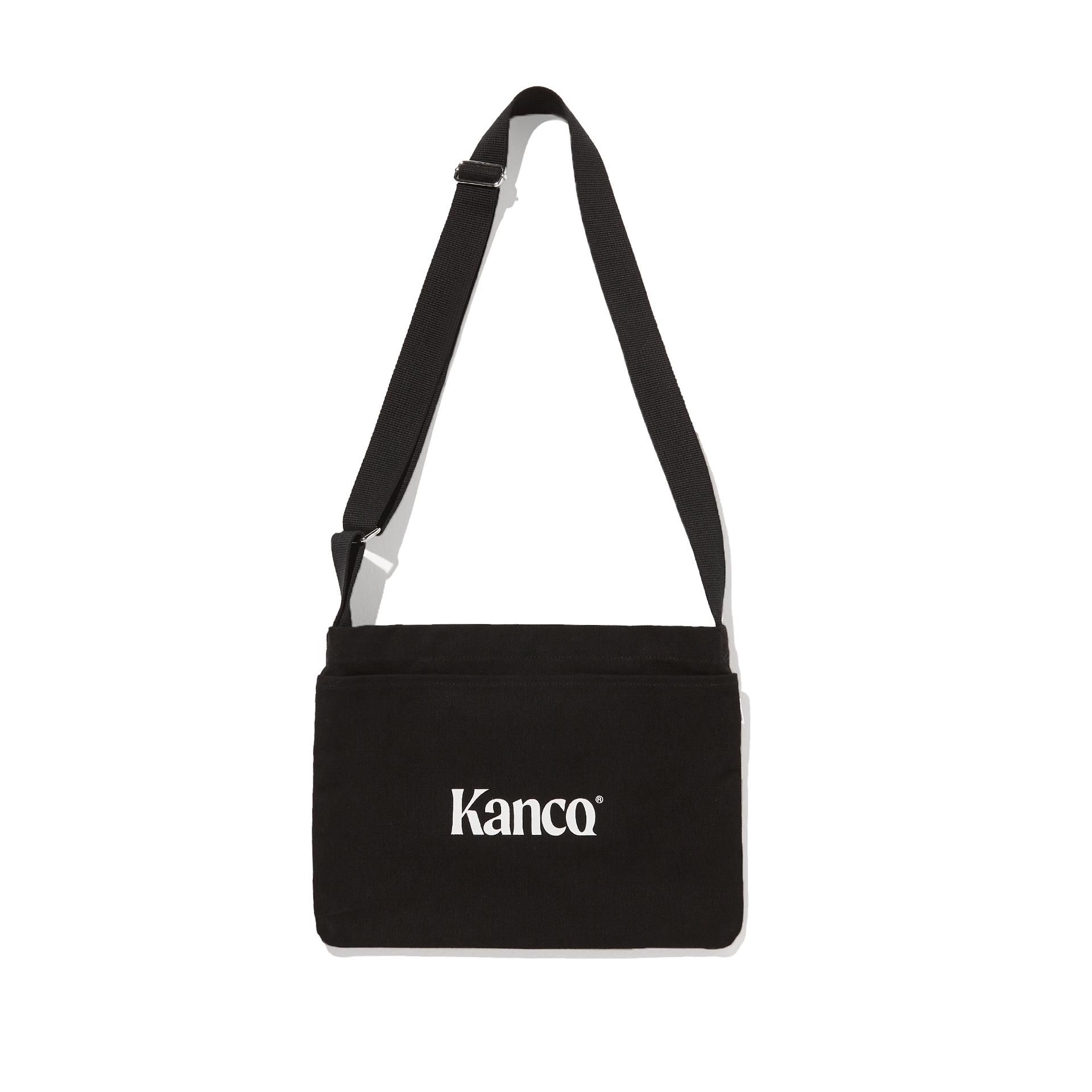 칸코(KANCO) KANCO CANVAS 3WAY CROSS BAG black