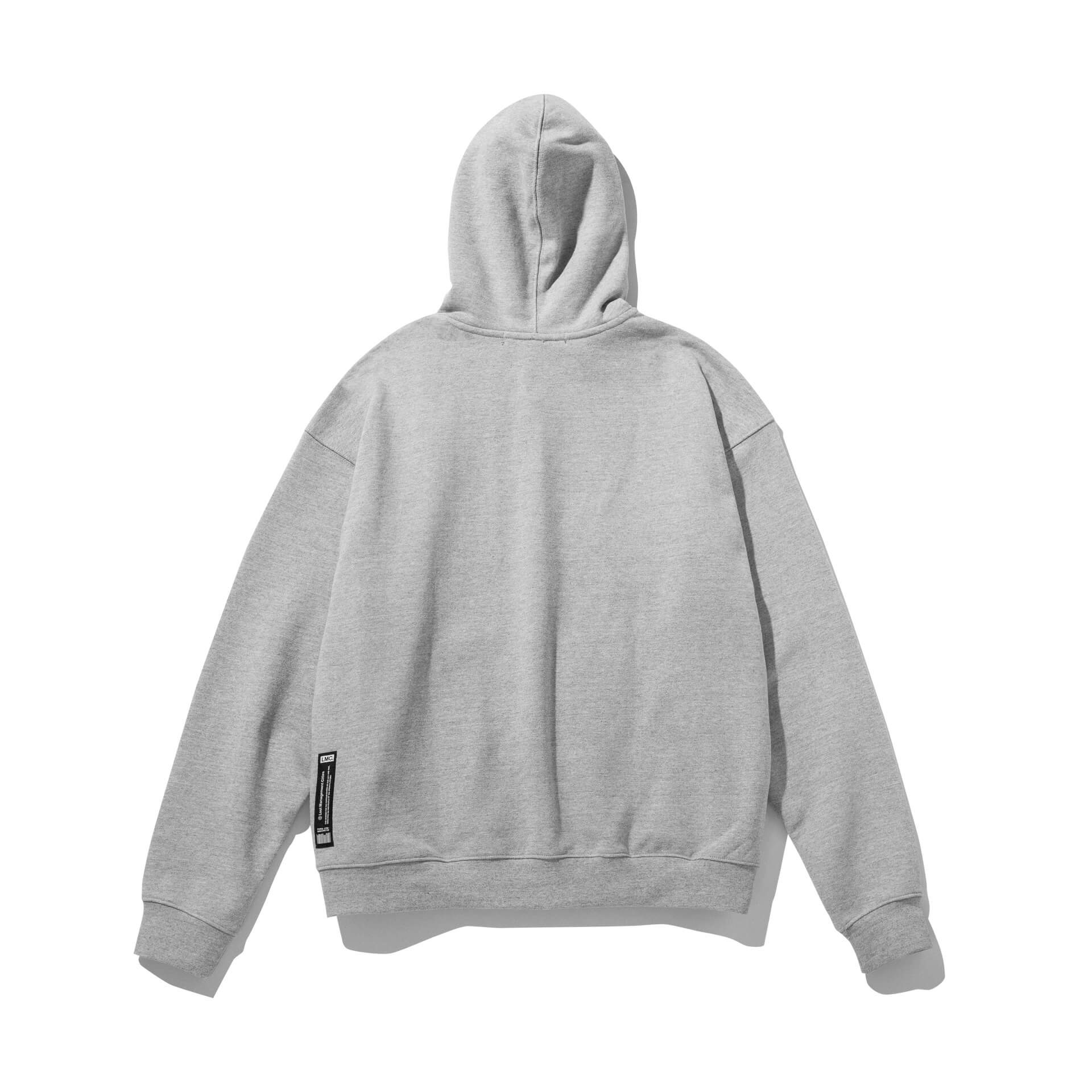 엘엠씨(LMC) LMC CAPITAL ZIP-UP HOODIE heather gray