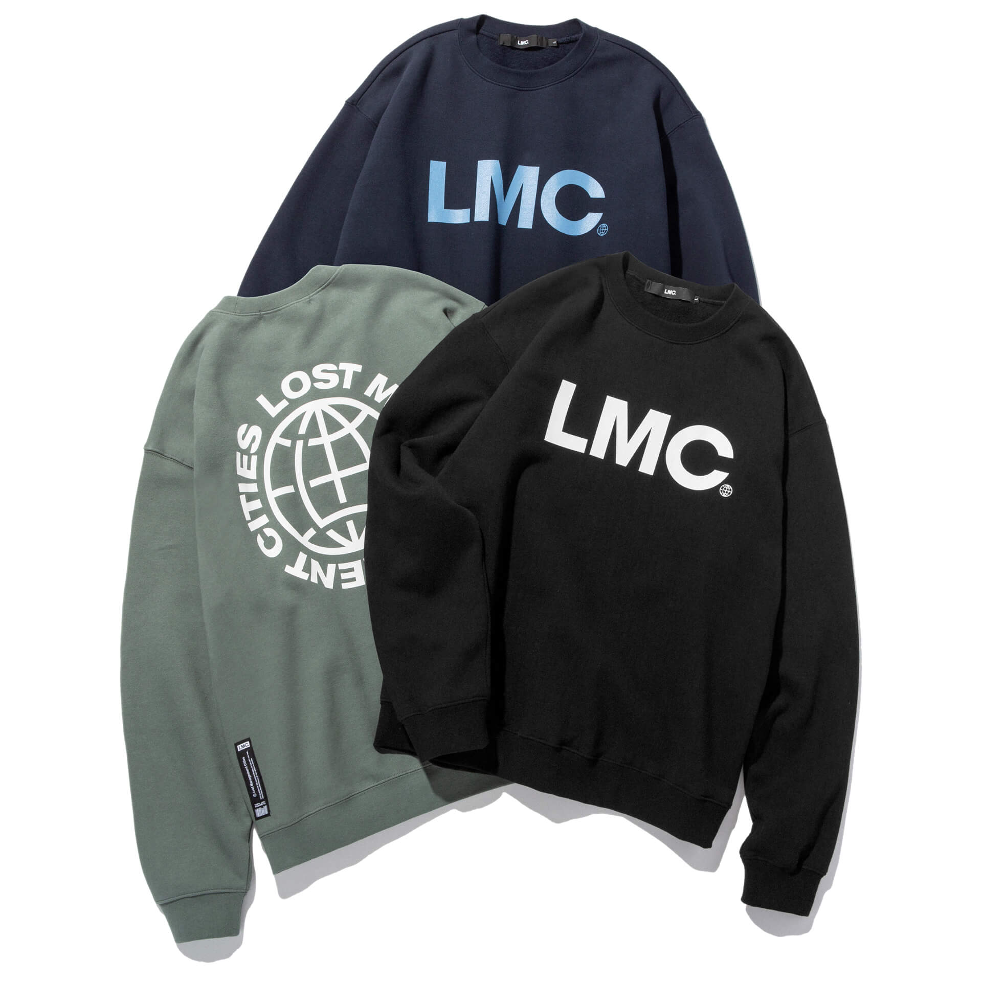 엘엠씨(LMC) LMC OG WHEEL SWEATSHIRT black