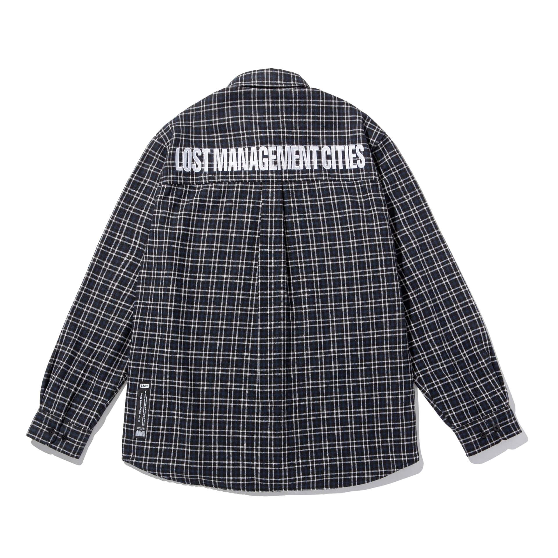 엘엠씨(LMC) LMC FN PLAID SHIRT black