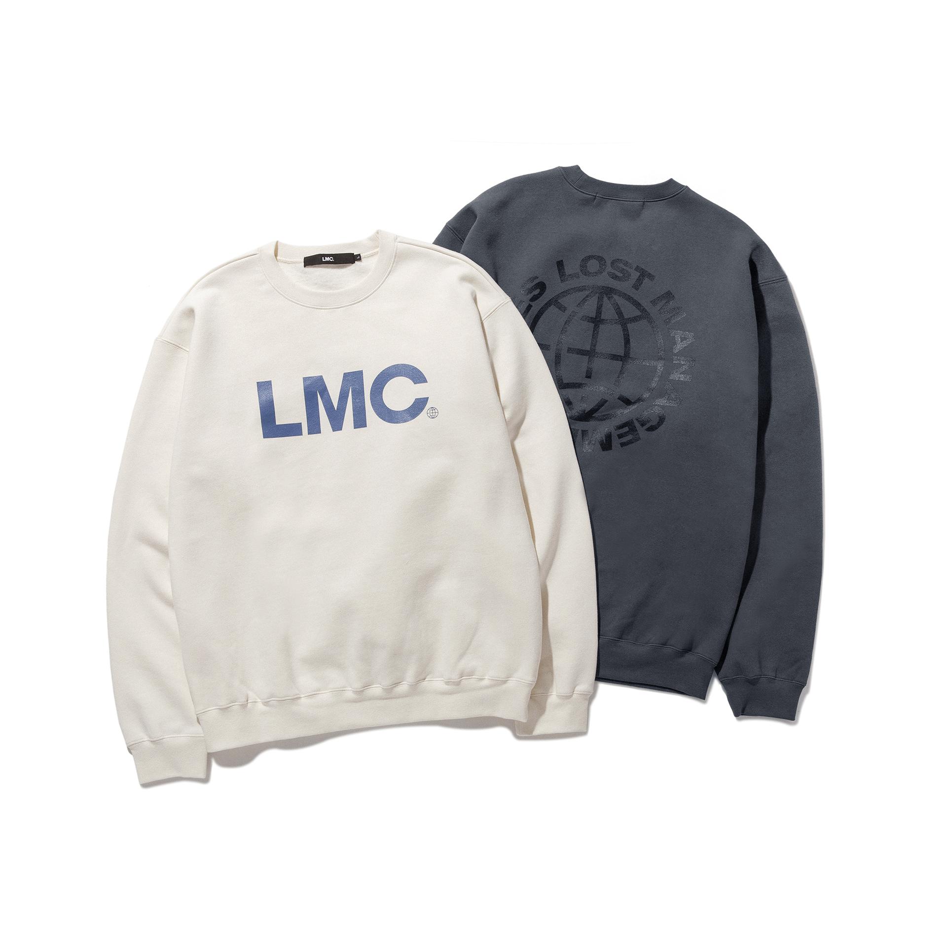엘엠씨(LMC) LMC OG WHEEL SWEATSHIRT cream