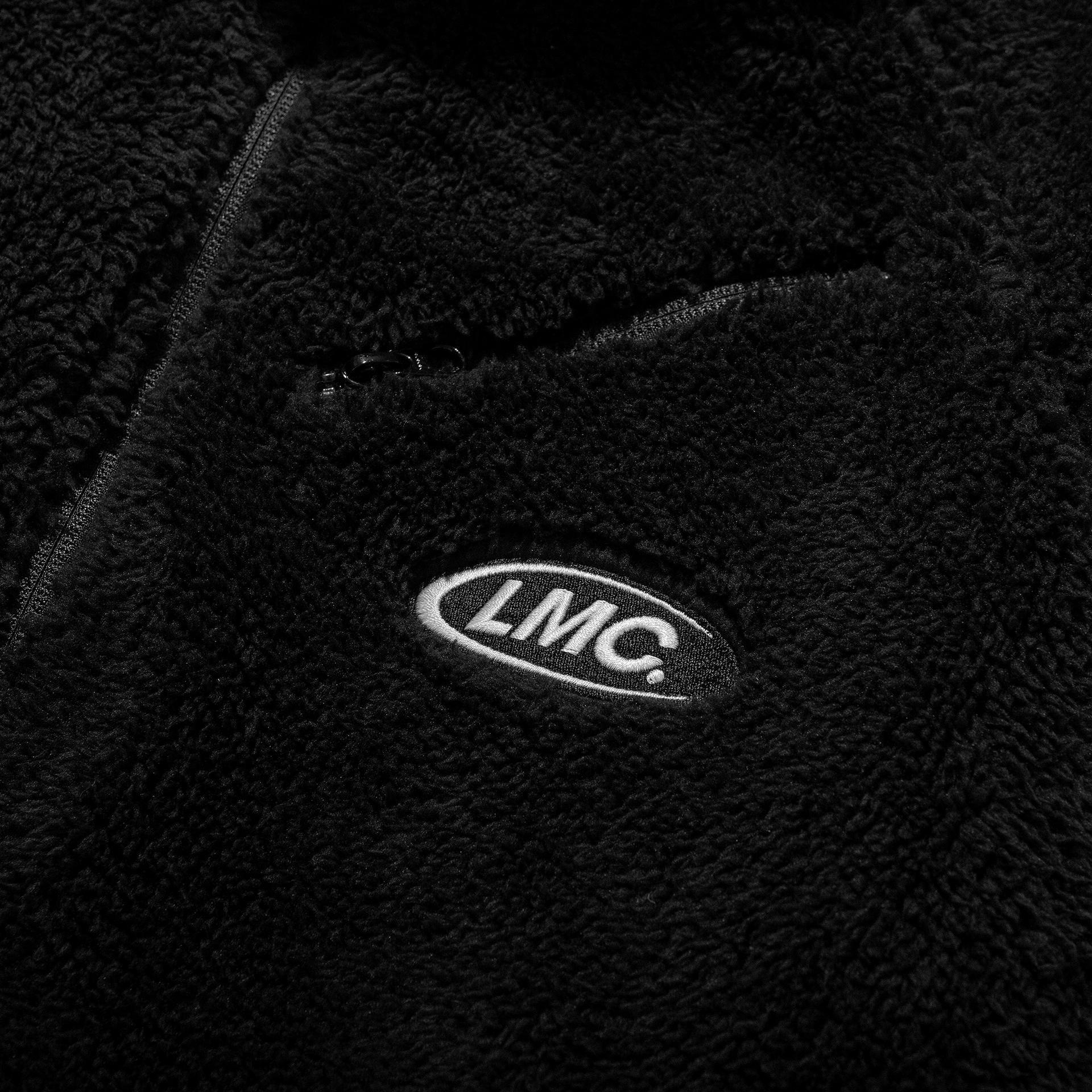 엘엠씨(LMC) LMC SILKY FLEECE REVERSIBLE JACKET black