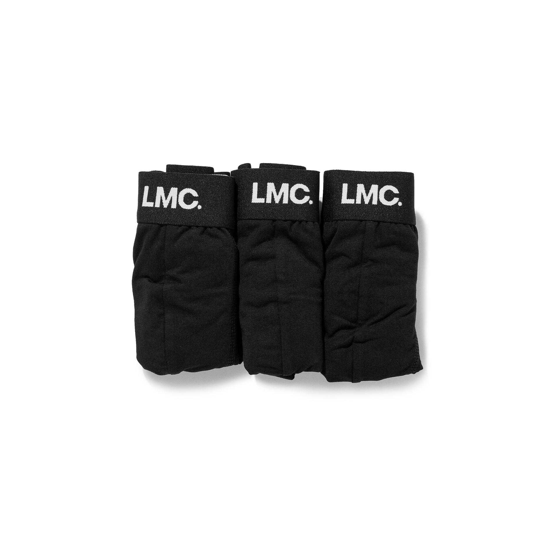 엘엠씨(LMC) LMC WHEEL LOGO BOXER BRIEFS 3PACK black