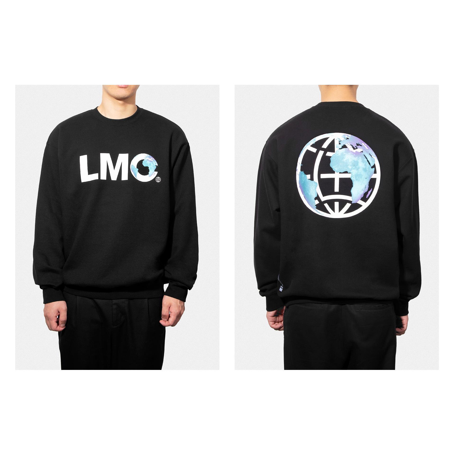 엘엠씨(LMC) LMC EARTH LOGO SWEATSHIRT black