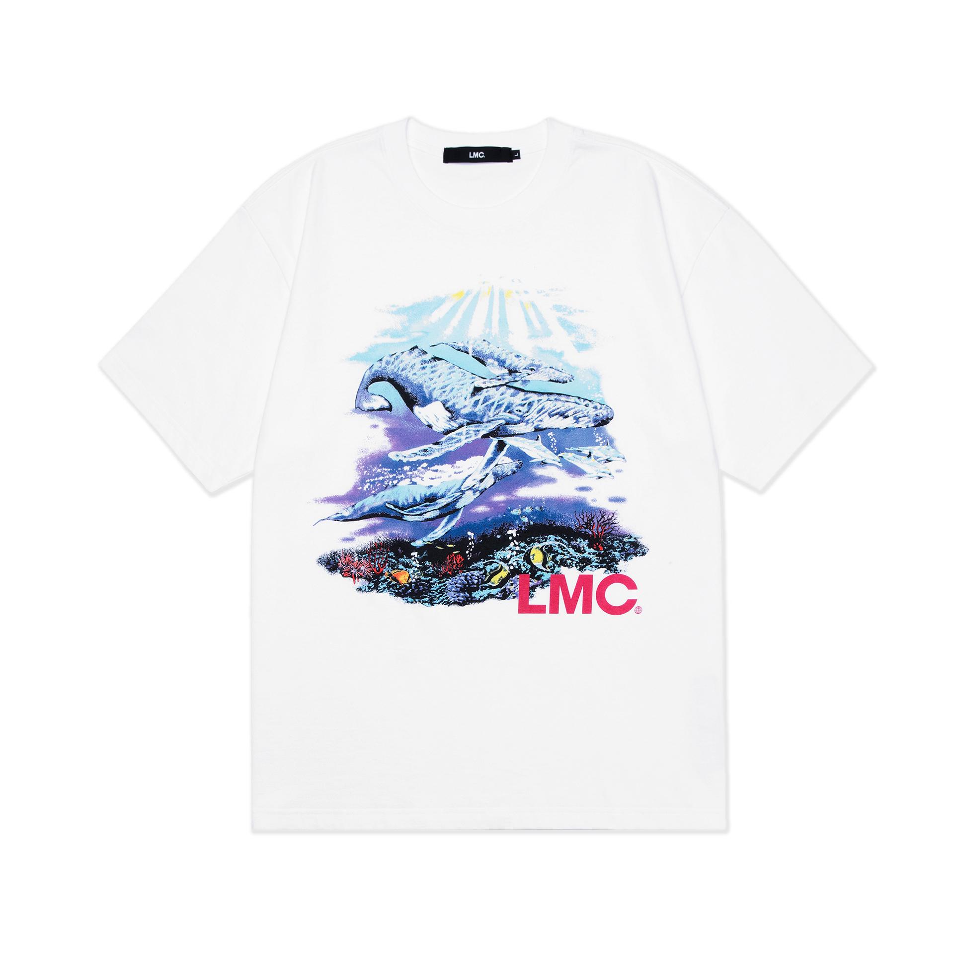 엘엠씨(LMC) LMC SEAWORLD TEE white