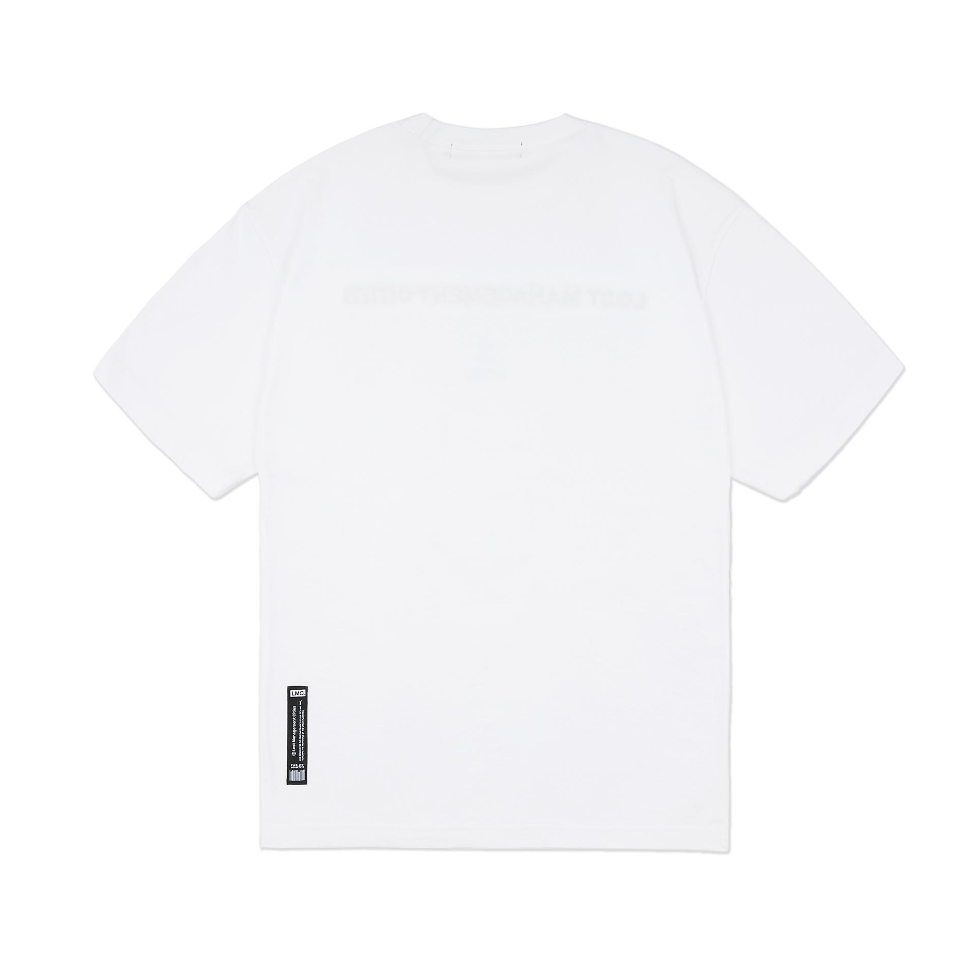 엘엠씨(LMC) LMC CAPITAL FN EMB TEE white