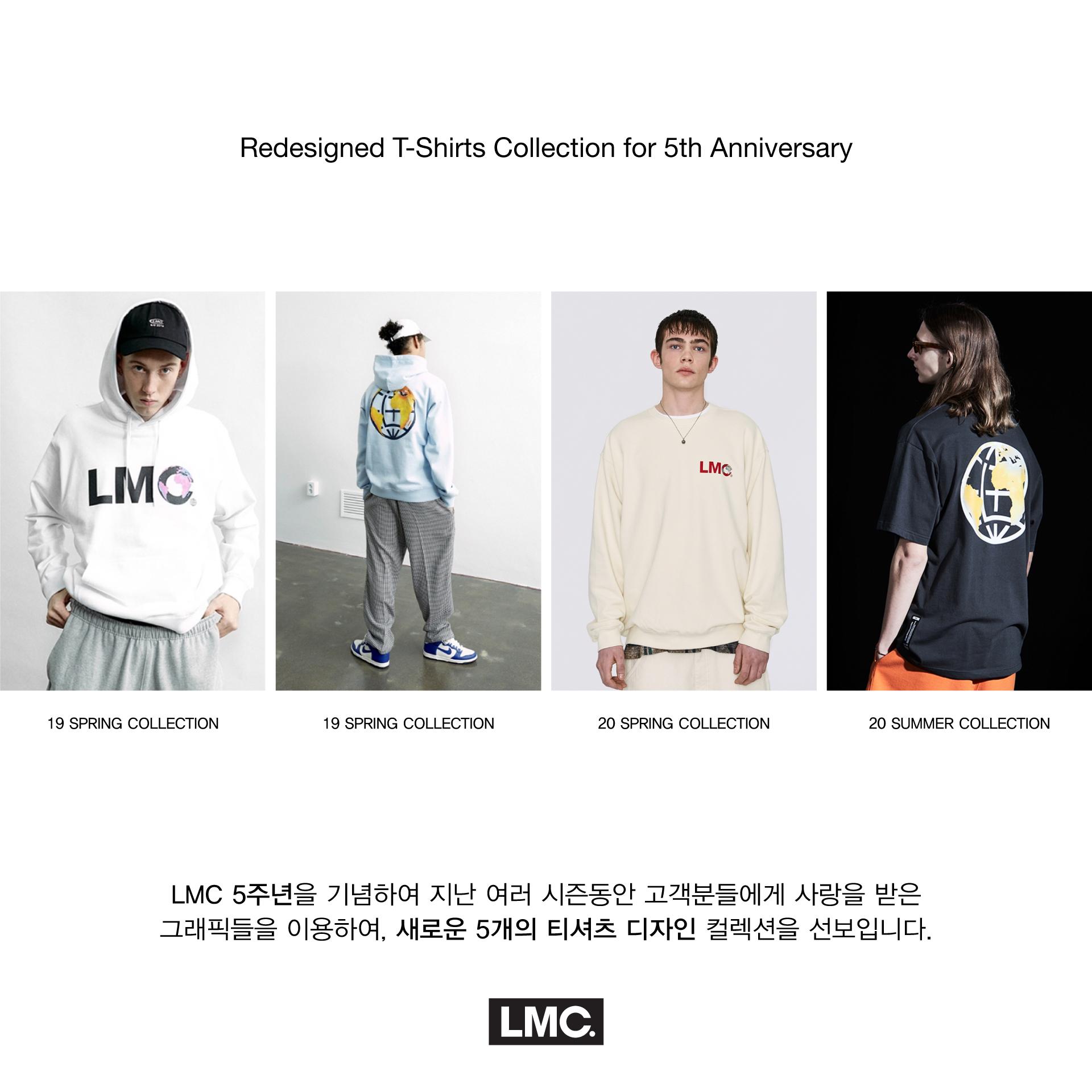 엘엠씨(LMC) LMC 5th ANNIV RETRO MOON TEE black
