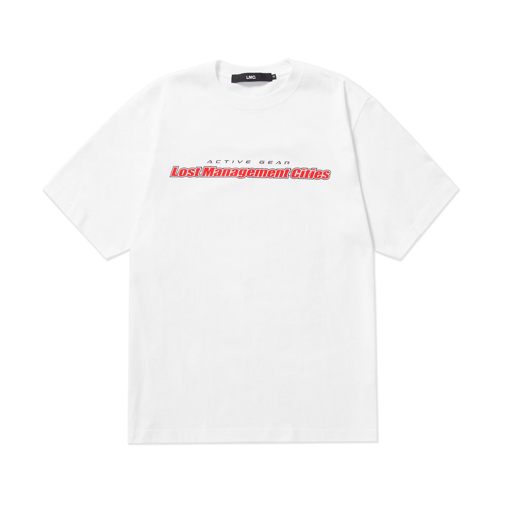 엘엠씨(LMC) LMC 5th ANNIV RETRO VERTICAL GRADIENT TEE white