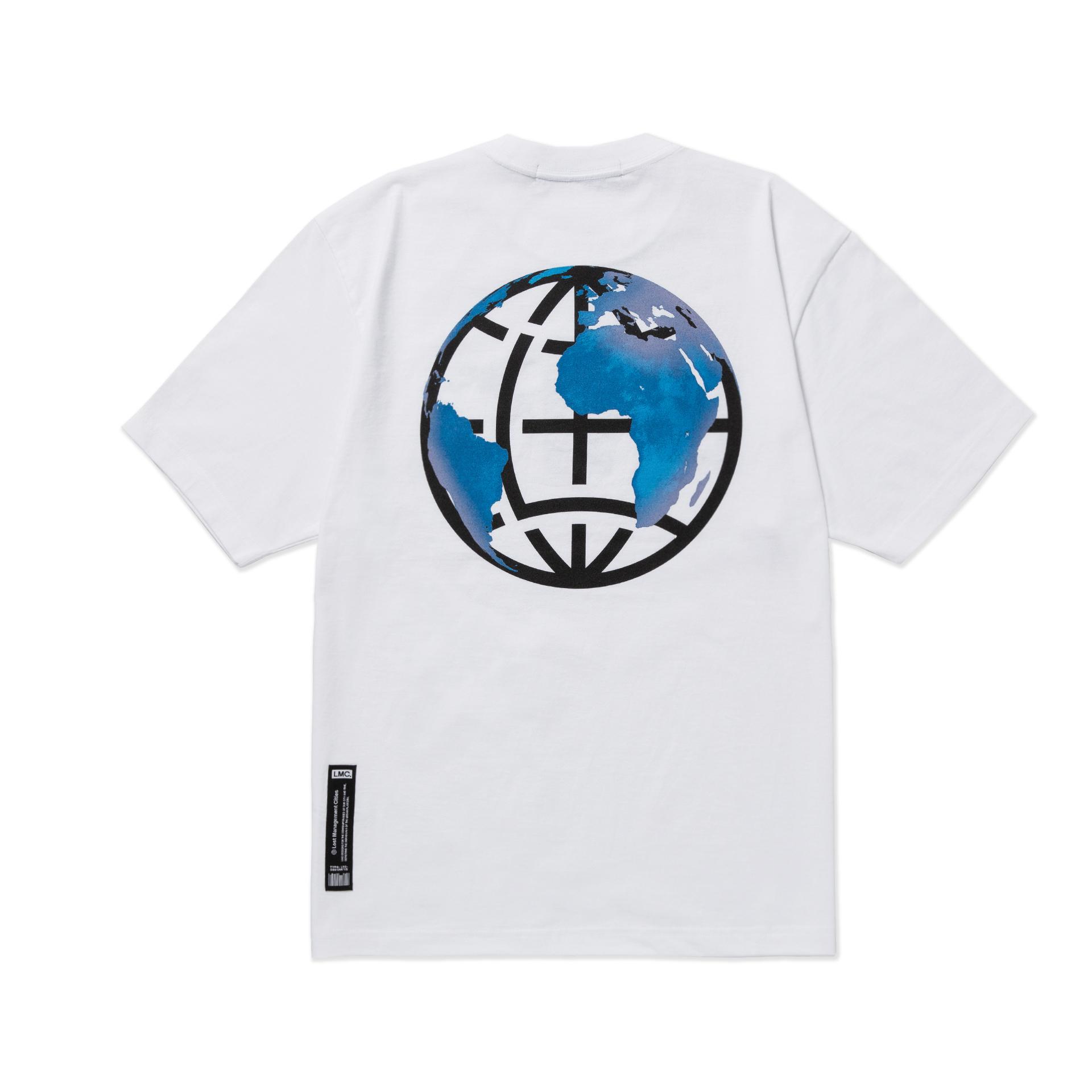 엘엠씨(LMC) LMC EARTH LOGO TEE white