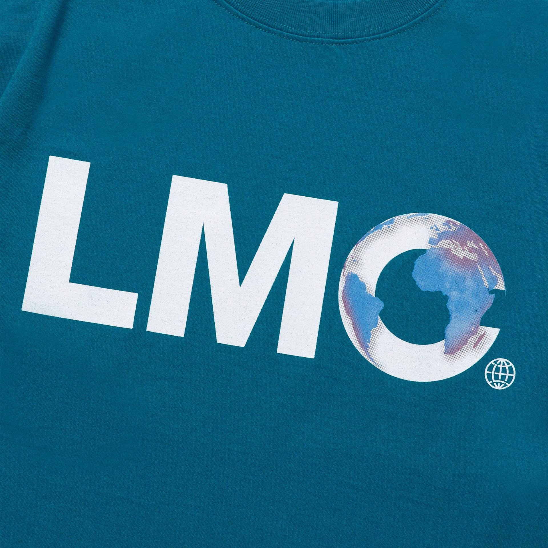 엘엠씨(LMC) LMC EARTH LOGO TEE teal