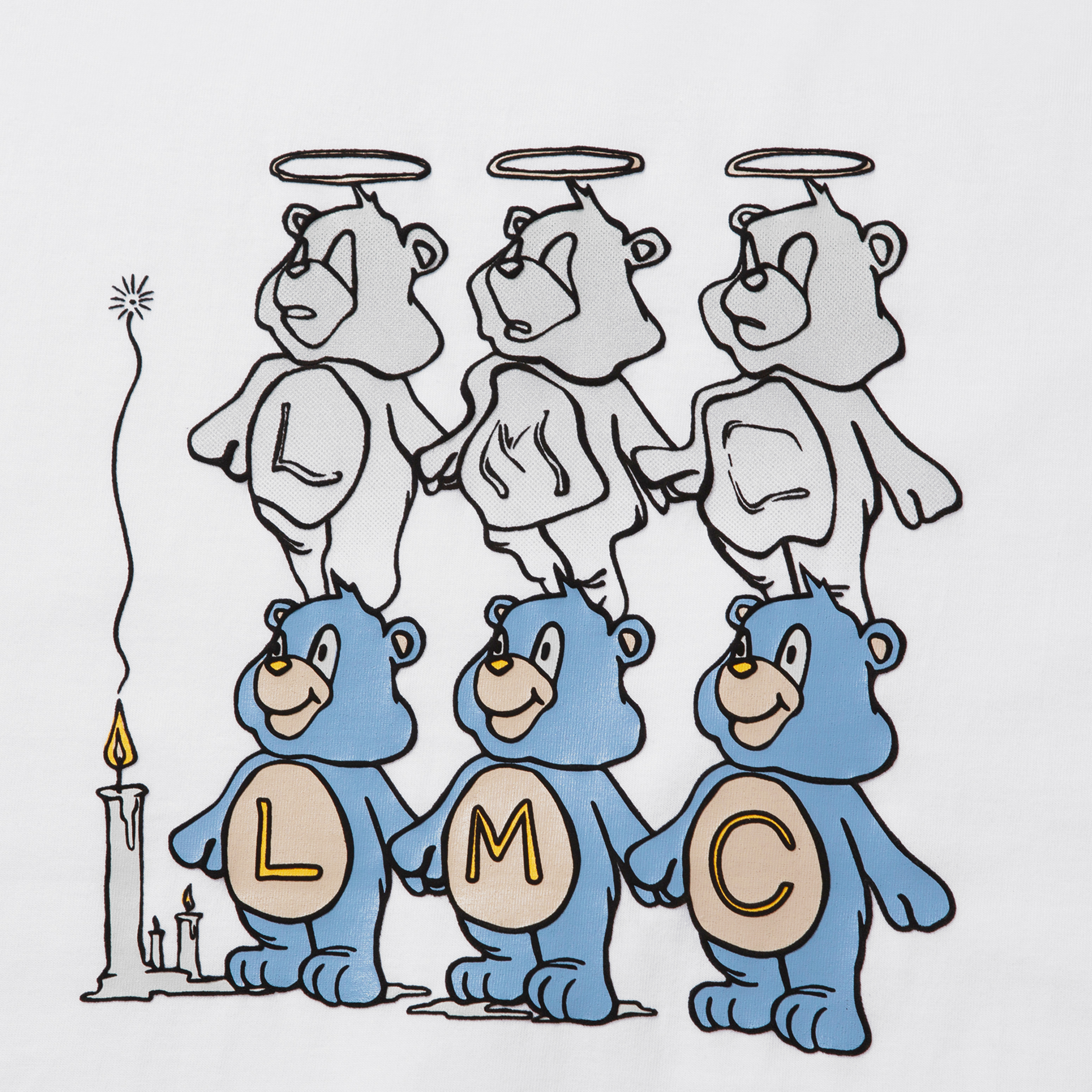 엘엠씨(LMC) LMC THREE BEARS TEE white
