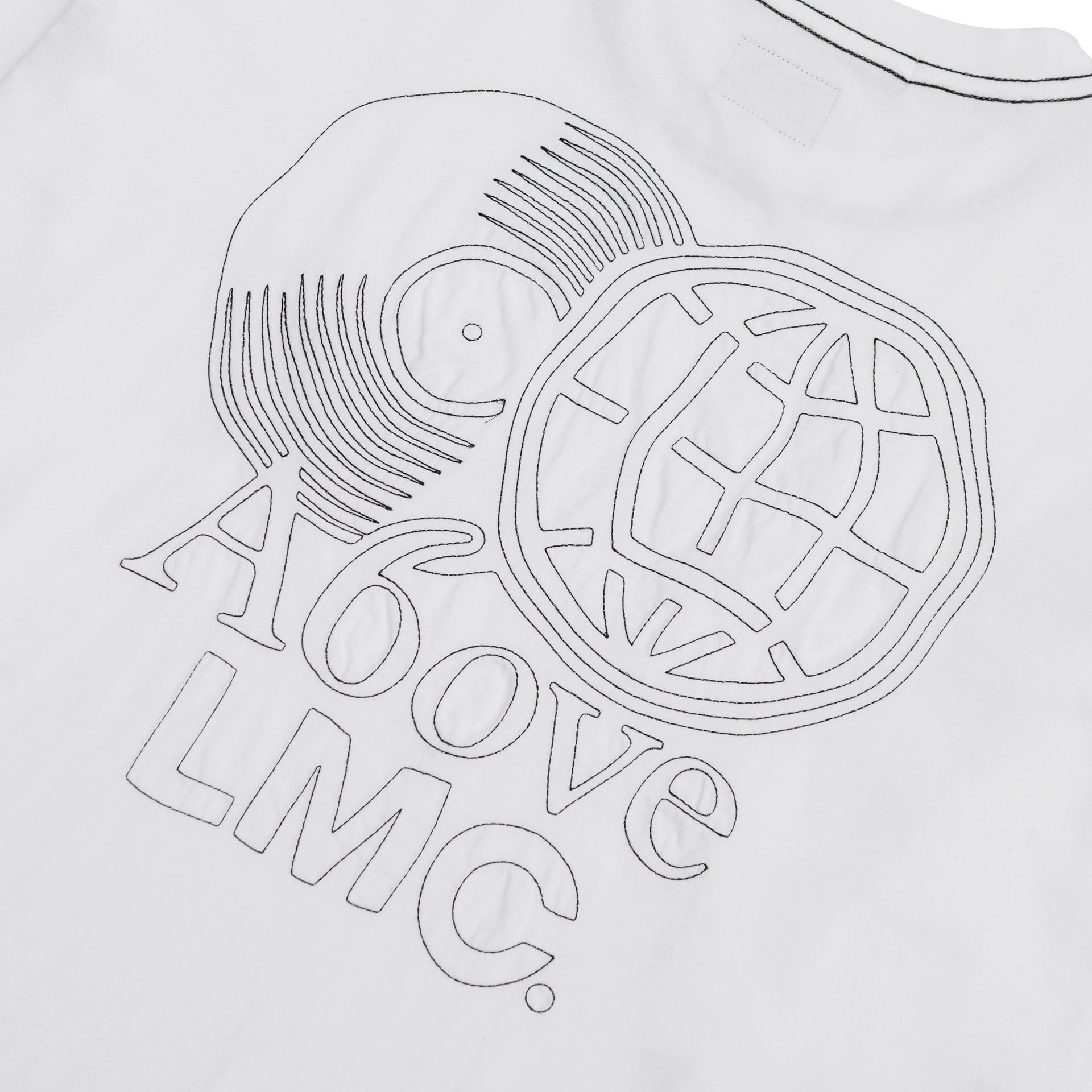 엘엠씨(LMC) LMC X A6OVE FRIENDSHIP MIX LONG SLV TEE white