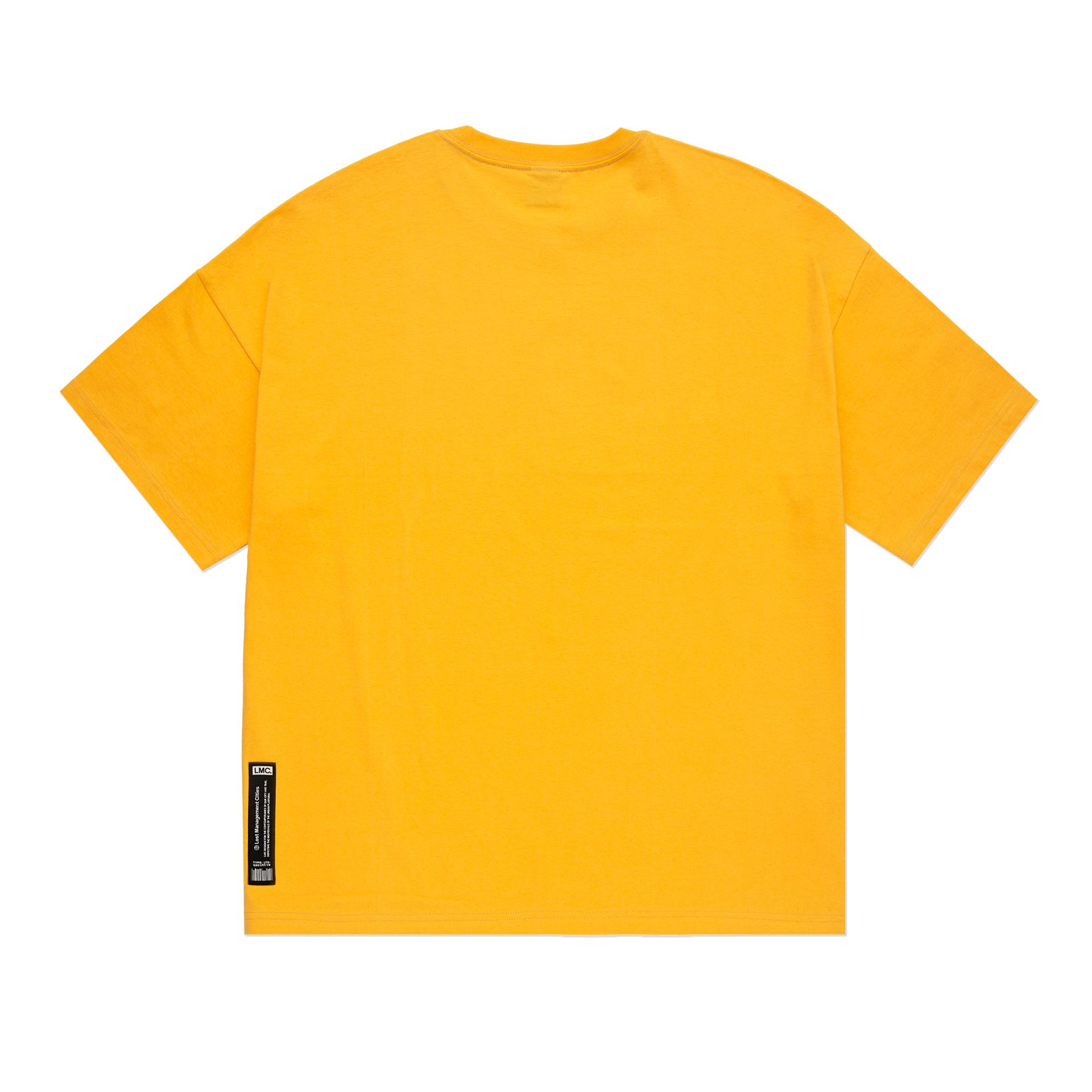 엘엠씨(LMC) LMC SMOKING ALIEN OVERSIZED TEE yellow